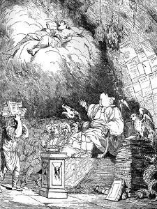 The Reviewer's Cave, 1765 by Mortimer