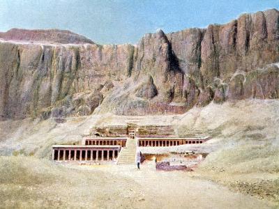 Mortuary Temple of Hatshepsut, Deir El Bahari, Luxor, Egypt, 20th Century--Giclee Print