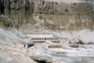Mortuary Temple of Queen Hatshepsut, Dayr Al-Bahri, Egypt, C1457 Bc--Photographic Print