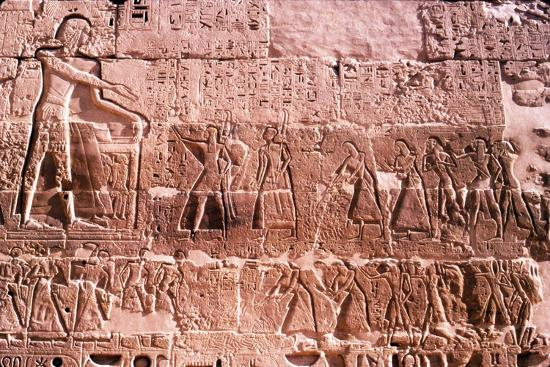 Mortuary Temple of Rameses III at Medianat Habu, Luxor, Egypt, 12th Century BC-Unknown-Giclee Print