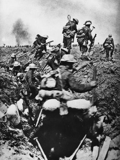 Morval 1916-Robert Hunt-Photographic Print