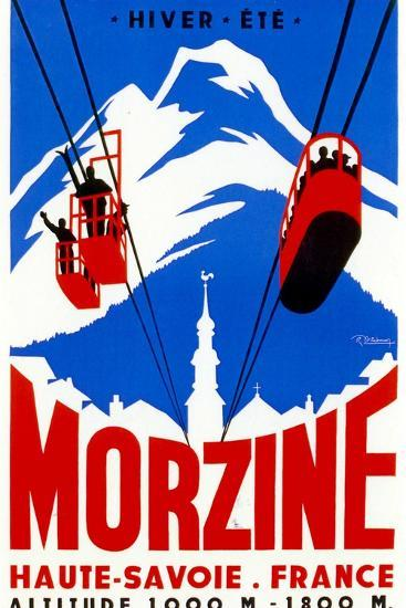 Morzine-Vintage Apple Collection-Giclee Print