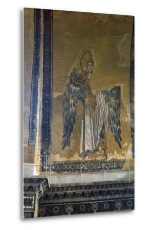 Mosaic Depicting Archangel Gabriel, Half Dome of Apse of Hagia Sophia,  Historic Areas of Istanbul Photographic Print by | Art com