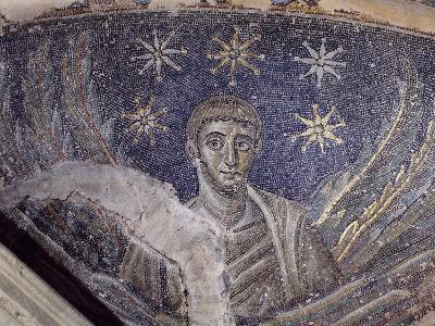 Mosaic Detail, Baptistery of Cathedral of Santa Maria Assunta, Naples, Campania, Italy--Giclee Print