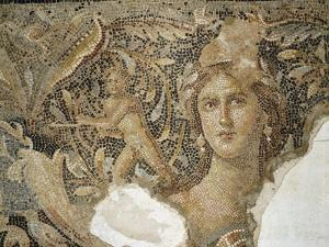 Mosaic Floor from a Roman Villa at Sepphoris Depicting Scenes from the Life of Dionysus