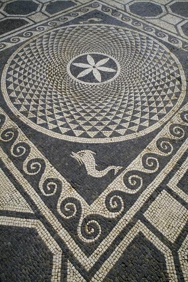 Mosaic Floor, Roman City of Emporiae--Giclee Print