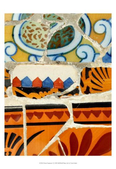 Mosaic Fragments II--Art Print