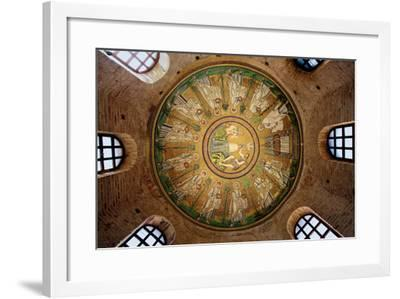 Mosaic in the Dome of the Arian Baptistery, 6th Century--Framed Photographic Print