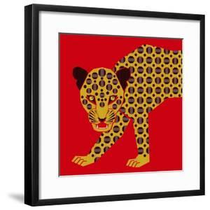 Mosaic Leopard