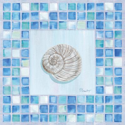 Mosaic Moonshell-Paul Brent-Art Print