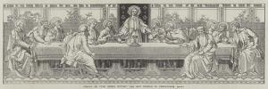 Mosaic of The Lord's Supper, the New Reredos in Westminster Abbey