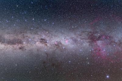 Mosaic of the Southern Milky Way from Vela to Centaurus--Photographic Print