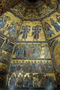 Mosaic on the Domed Ceiling of St John's Baptistry, Florence