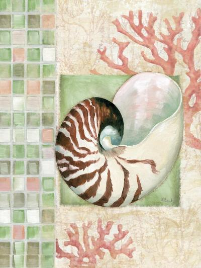 Mosaic Shell Collage I-Paul Brent-Art Print
