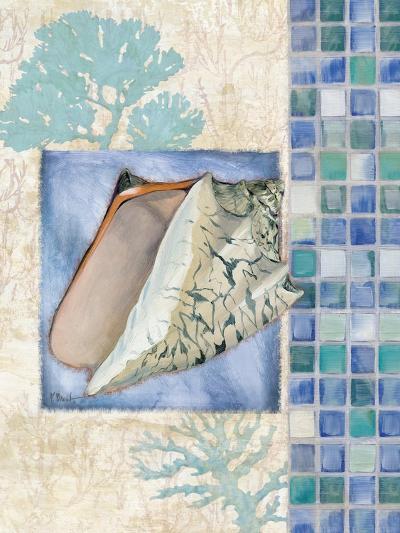 Mosaic Shell Collage III-Paul Brent-Art Print