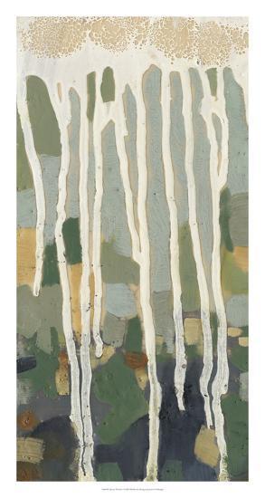 Mosaic Treeline I-Jennifer Goldberger-Premium Giclee Print