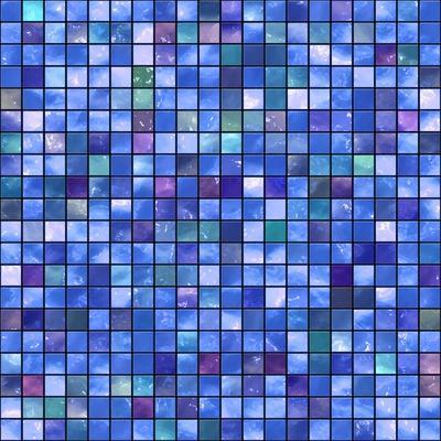 Mosaic-rateland-Art Print