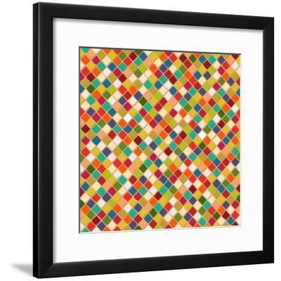 Mosaico-Sharon Turner-Framed Art Print
