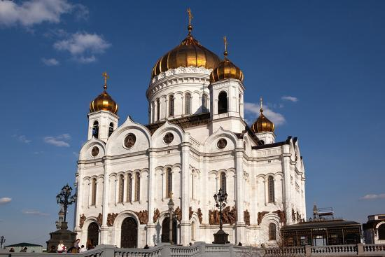 Moscow, Cathedral of Christ the Saviour-Catharina Lux-Photographic Print