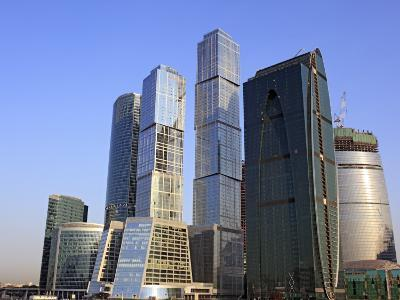 Moscow International Business Center (Moscow-City), Moscow, Russia-Ivan Vdovin-Photographic Print