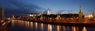 Moscow, Panorama, Kremlin, Moscow, in the Evening-Catharina Lux-Photographic Print