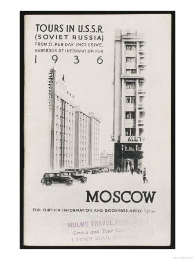 Moscow's Magnificent Modern Architecture--Giclee Print