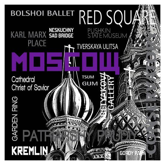 Moscow--Art Print