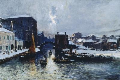 Chioggia under Snow, 1880-85