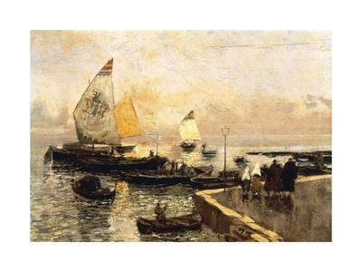 Coal Boats in Chioggia