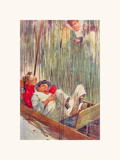 Moses in the Bullrushes-Lawson Wood-Premium Giclee Print