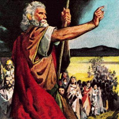 Moses in the Wilderness-McConnell-Giclee Print
