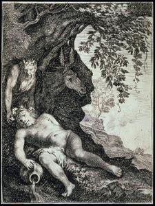 The Drunken Silenus, 17th Century by Moses van Uyttenbroeck