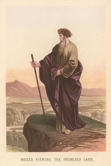 Moses Viewing the Promised Land--Art Print
