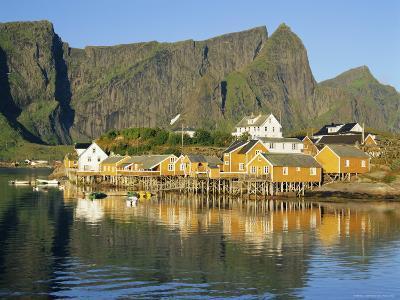 Moskenesoya, Fishing Village on Sakrisoya Island, Lofoten Islands, Nordland, Norway, Scandinavia-Gavin Hellier-Photographic Print