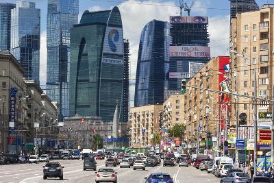 Moskva-City-Jon Hicks-Photographic Print