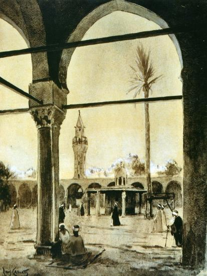 Mosque, Cairo, Egypt, 1928-Louis Cabanes-Giclee Print