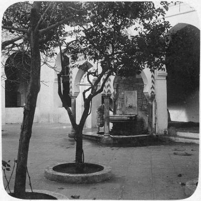 Mosque Fountain, Algiers, Algeria, Late 19th or Early 20th Century--Giclee Print