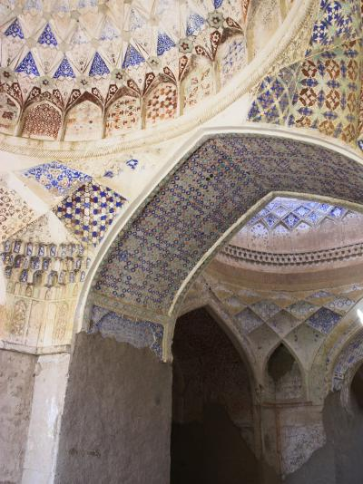 Mosque Interior at the Ruins of Takht-I-Pul, Balkh, Afghanistan-Jane Sweeney-Photographic Print