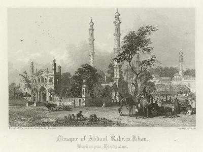 Mosque of Abdul Rahim Khan, Burhanpur, India-Henry Warren-Giclee Print