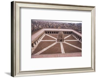 Mosque of Ibn Tulun, Built AD 876-879, Cairo, c20th century-CM Dixon-Framed Photographic Print