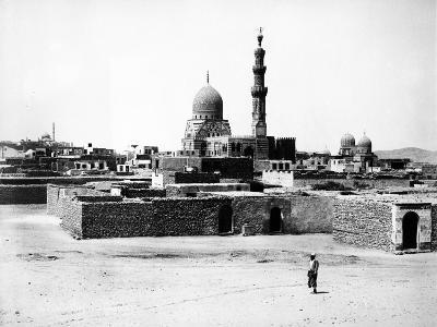 Mosque of Qaytbay, Cairo, C.1880-J. Pascal Sebah-Photographic Print