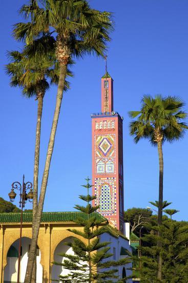 Mosque of Sidi Bou Abib, Grand Socco, Tangier, Morocco, North Africa-Neil Farrin-Photographic Print