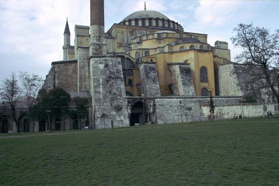 Mosque of St Sophia in Istanbul, 6th century. Artist: Unknown-Unknown-Photographic Print
