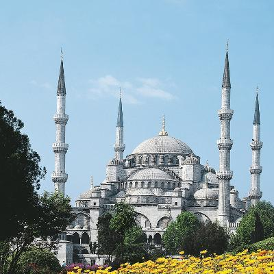 Mosque of Sultan Ahmet I known as Blue Mosque--Photographic Print