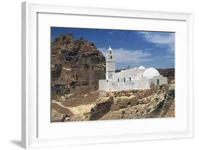 Mosque of the Seven Sleepers, Chenini, Tataouine, Tunisia--Framed Giclee Print