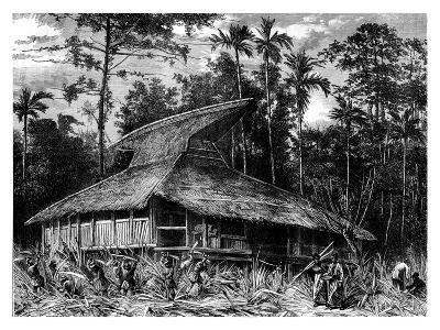 Mosque on Ternate, Indonesia, 19th Century- Mesples-Giclee Print