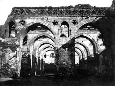 Mosque Ruin, Cairo, Egypt, 1878-Felix Bonfils-Giclee Print