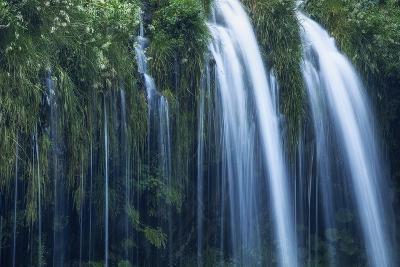 Mossbrae Falls Detail, Waterfall, Mount Shasta California-Vincent James-Photographic Print