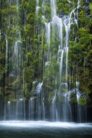Mossbrae Weeping Waterfall, Mount Shasta California-Vincent James-Photographic Print