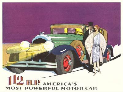 Most Powerful Motor Car--Art Print